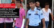 POLİSİN DUR İHTARINDAN KAÇTILAR...