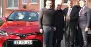 Şehit polis Fethi Sekin'in Ailesine Jest