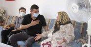 Türkdoğan'dan şehit ailelerine bayram ziyareti