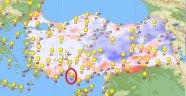 Türkiye'nin en sıcak şehri Alanya