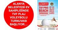 TVF PRO BEACH TOUR 2014 ALANYA ETABI BAŞLIYOR