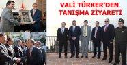 VALİ TÜRKER ALANYA'YI ZİYARET ETTİ