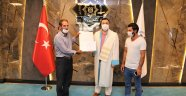 Vefat eden ALKÜ'lü öğrencinin diploması ailesine verildi