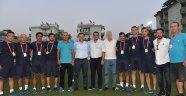 Yaz Spor Okulları sertifika töreni yapıldı