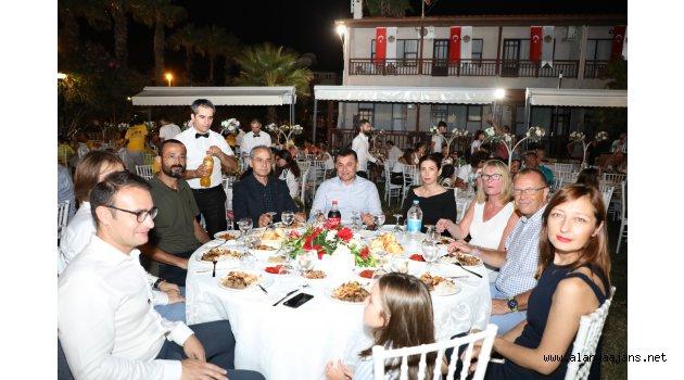 Triatlon Avrupa Kupası kapanış yemeği gerçekleştirildi