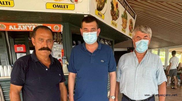 Türkdoğan'dan geçmiş olsun ziyareti