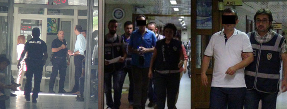 """Alanya'da Hakim ve Savcılara """"FETÖ"""" tutuklaması"""