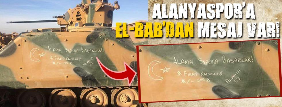 Alanyaspor'a El-Bab'dan Mesaj Var