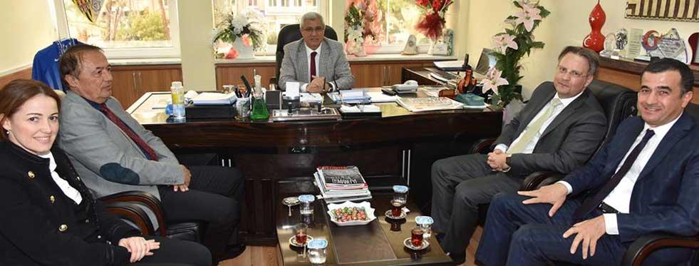 Danimarka Büyükelçisi'nden Alanya'ya Ziyaret