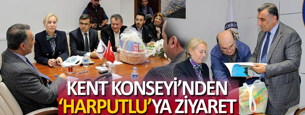Kent Konseyi'nden Kaymakam Harputlu'ya Ziyaret