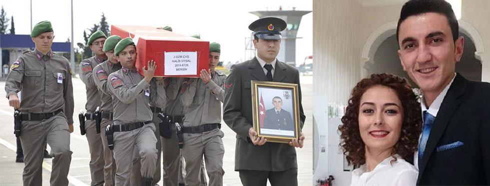 Şehit cenazesi Gazipaşa'ya getirildi