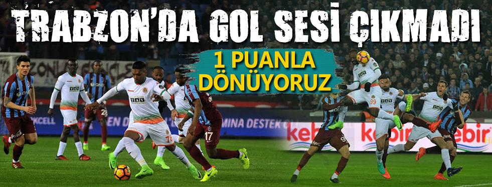 Trabzon'dan Puanla Dönüyoruz