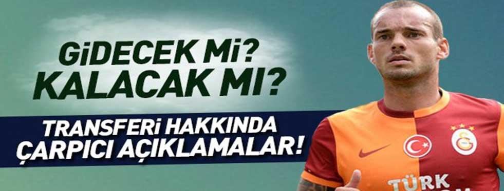Wesley Sneijder ayrılıyor mu?