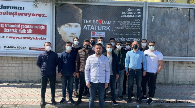 Yılmaz: Bu ülkede Mustafa Kemal'ler yenilmez!