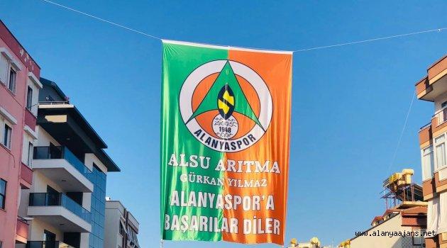 Yılmaz'dan Alanyaspor için dev bayrak