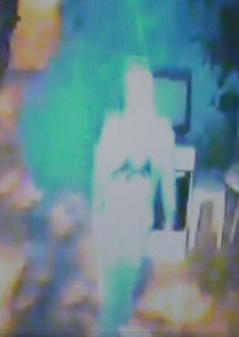 Güvenlik kamerasına rağmen hırsızlık