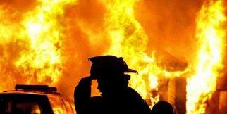 Yangında can pazarı