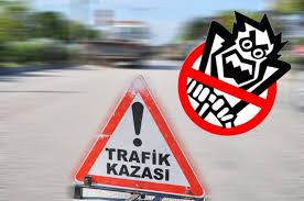 Trafik kazaları hayatları karartır - 1